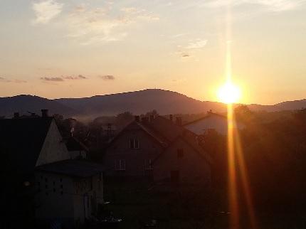 Zachód Słońca 16.07.2015r. Autor zdjęcia Marek Skworc