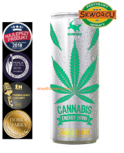 Energy Drink Cannabis 250ml - sklep Skworcu.com.pl